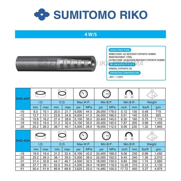 Hydraulic hose Sumitomo S-4W