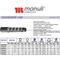 Hydraulic Manuli hoses Goldenspir 4SP