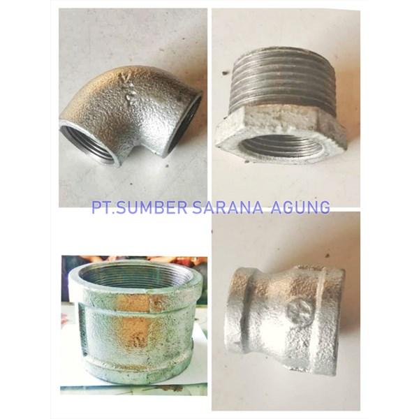 Fitting galvanis NPT TSP /galungung