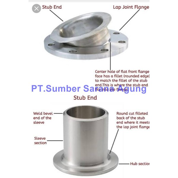 Lap join flange stainless SS 304