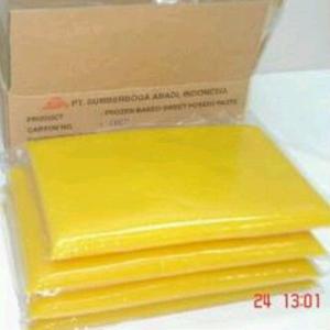 Export Frozen Sweet Potato Paste Indonesia
