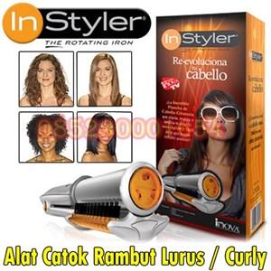 Instyler alat pengeriting rambut Alat Insyler Rotating Iron Alat Catok  Rambut Instyler 085290001654 PIN BBM  878baef1ca