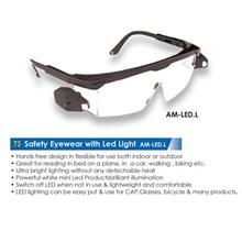 Safety Eyewear With Led Light Am-Led-L