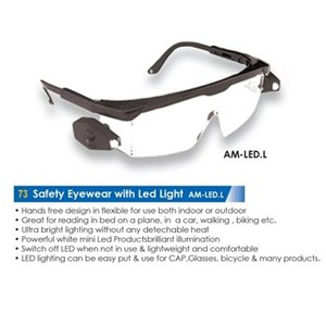 Safety Eyewear With Led Light Am-Led-L