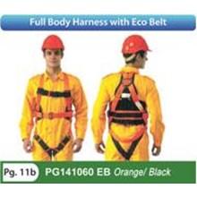 Full Body Harness with Eco Belt PG1410060 EB Orange Black