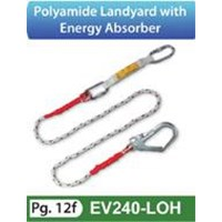 Polyamide Landyard with Energy Absorber EV240-LOH