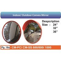 Indoor and outdoor convex mirror Traffic Control Equipments