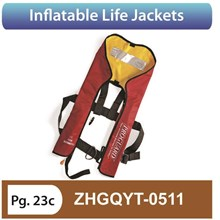 Inflatable life Jackets ZHGQYT 0511