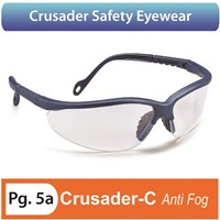 Crusader Safety Eyewear Anti Fog