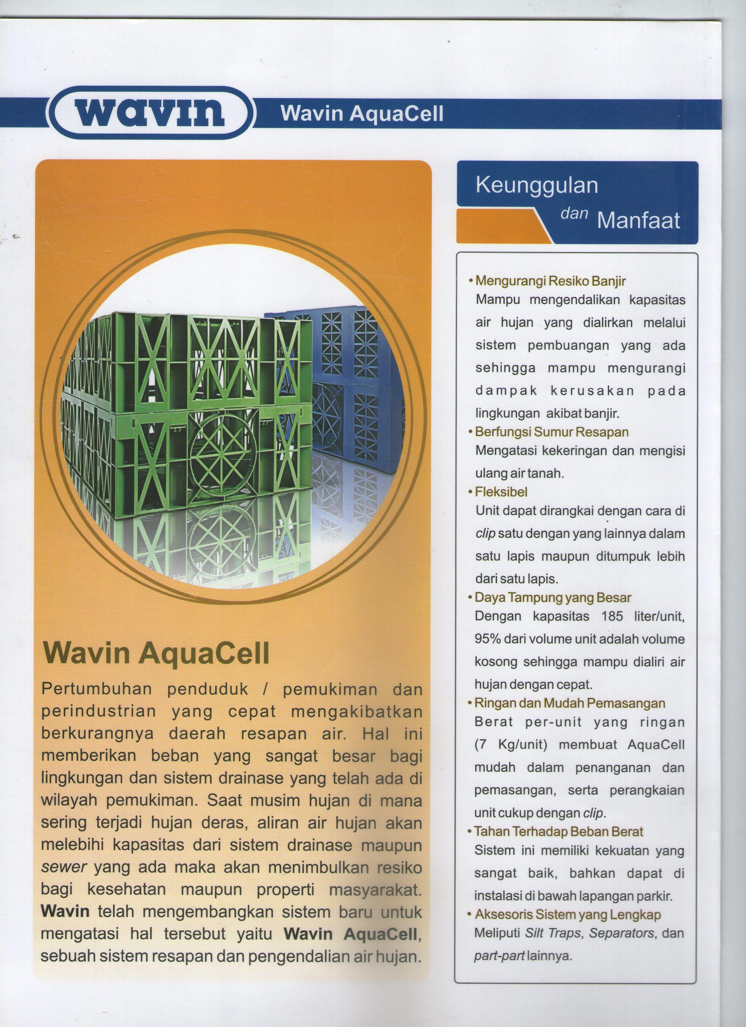 Sell Wavin Aqua Cell   from Indonesia by PT Adibrata Graha