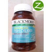 Blackmores Odourless Fish Oil 1000  Omega 3 - 500 Caps 1