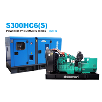 Genset Silent Saonon S300HC6(S) 60Hz