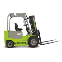 Four Wheel Electric Forklift Zoomlion FB15/20/25/30/35