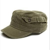 Topi promosi bahan saten