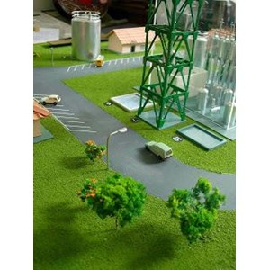 Maket Kawasan Industri Dan Pabrik