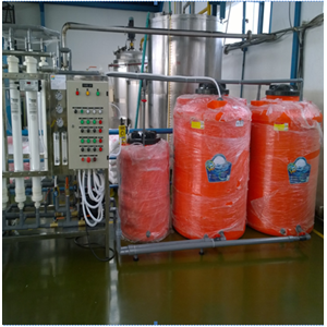 Design & Install Ultrafiltration System (WTP) for Factory By CV. Young Water Technology