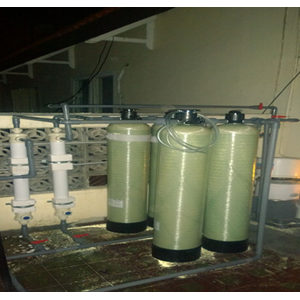 Design & Install Filter and Ultrafiltration System (WTP) for housing By CV. Young Water Technology