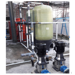 Design & Install Filter WTP System For Domestic Use By CV. Young Water Technology