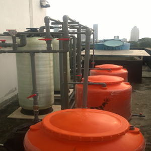 Design & Install Ion Exchange Filter system (WTP) By CV. Young Water Technology