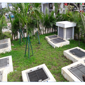 Sewage Treatment Plant Extended Aeration Biomedia System With Manhole System By CV. Young Water Technology