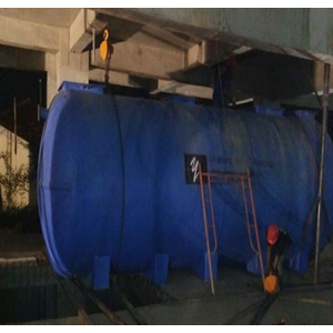 Sewage Treatment Plant Bio Tank With Biomedia System By CV. Young Water Technology