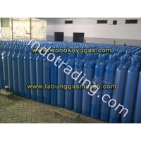 Tabung Gas Oksigen N2O Compress Air Nitrogen Argon