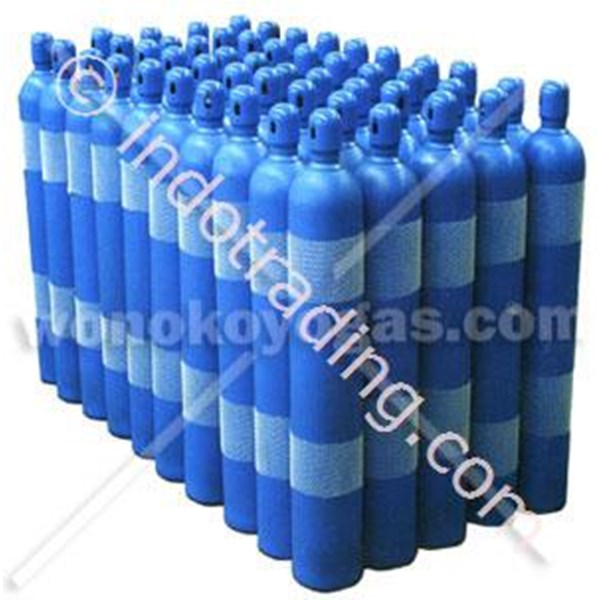 Tabung Gas Oksigen Nitrogen Argon CO2 Helium Acetylene DLL