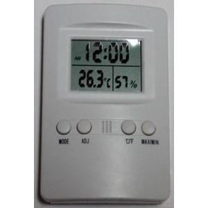 Jual Thermometer Hygro Dan Jam Kk 202 Harga Murah Banyumas