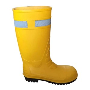 Sepatu Boots Safety Kuning Krisbow 10095008