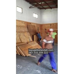 Kayu Jati Londo atau Jati Londo Murah Ukuran 122x244 cm jenis Triplek Tatal