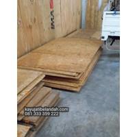 Jual Kayu Pinus import atau Pine Wood Murah Ukuran 122x244 cm jenis OSB 2