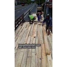 Kayu Bekas Kedelai import Jati Belanda Murah Ukuran 4x14x240 cm Harga Per Batang