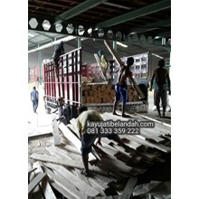 Jual Kayu Bekas Kedelai import Jati Belanda Murah Ukuran 4x14x240 cm Harga Per Lembar