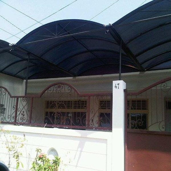 Atap Canopy Stainless By PT Sinar Kaca
