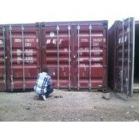 Box Container Dry 20 Feet Kondisi 80%