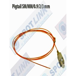 Aksesoris Kabel Pigtail SM-MM-0.9-2-3 mm