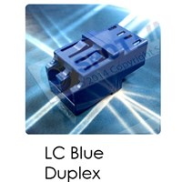 Adaptor LC Blue Duplex