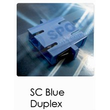 Adaptor SC Blue Duplex