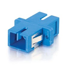 Optical Adapter LC Blue Simplex