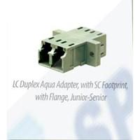Optical Adapter LC Aqua