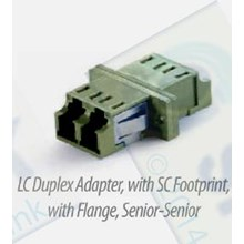 Adapter LC Duplex Senior-Senior