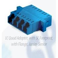 Adapter LC Quad Blue