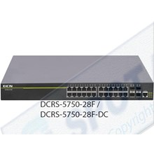 Network Hubs and Switch Ethernet Switch DCRS-5750-28F-DC