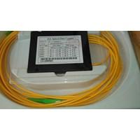 Jual Splitter 1:4 SC APC Alat Penyambung Fiber Optik