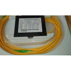 Alat Penyambung Fiber Optik Splitter 1:4 SC APC