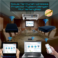 Jual Wireless Projector Joyhub Fujitech