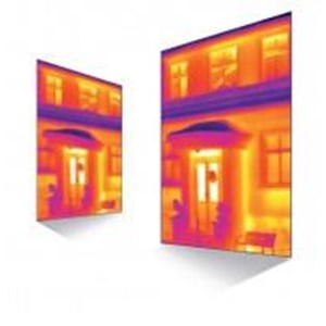 Building Thermography² - High-Resolution Thermal Images