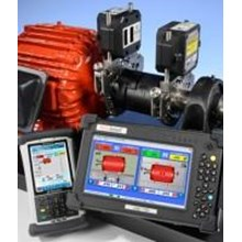 Alat Alat Mesin Wireless Shaft Alignment System S-680 Straight-Line Laser Systems