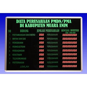 LED INFORMATION DISPLAY