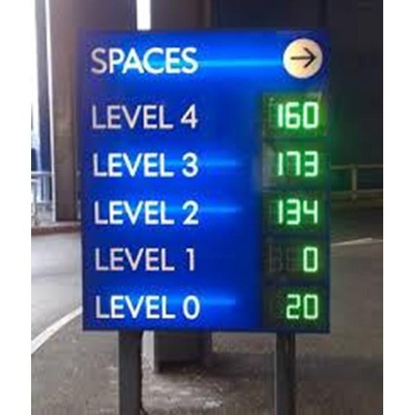 Sign Parking Display